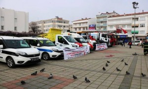 Ayancık Belediyesine 7 Araç Teslim Edildi