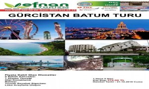 Gürcistan Batum Turu Başlıyor