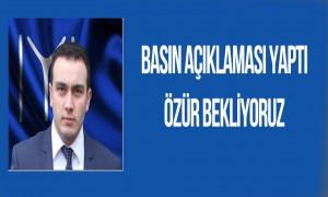İYİ Parti Boyabat İlçe Başkanı Mithat Mor Basın Açıklaması Yaptı