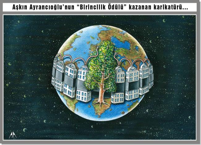 Aşkın Ayrancıoğlu'na Birincilik Ödülü