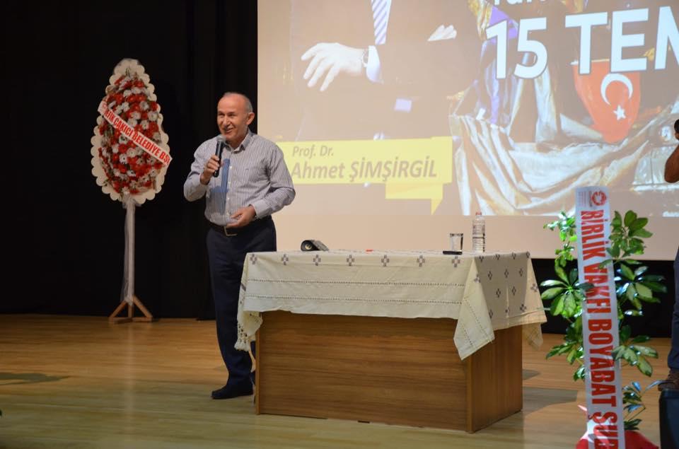 15 Temmuz Konferansı Yapıldı