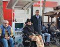 Boyabat'ta engelliler için akü şarj istasyonu