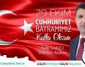 Başkan Çakıcı'nın 29 Ekim Cumhuriyet Bayramı mesajı
