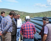 Başkan Çakıcı, doğalgaz çalışmalarını inceledi