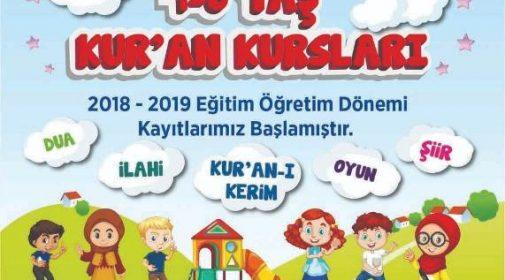 Sinop 4-6 Yaş Kur'an Kurslarına yenilerini ekledi