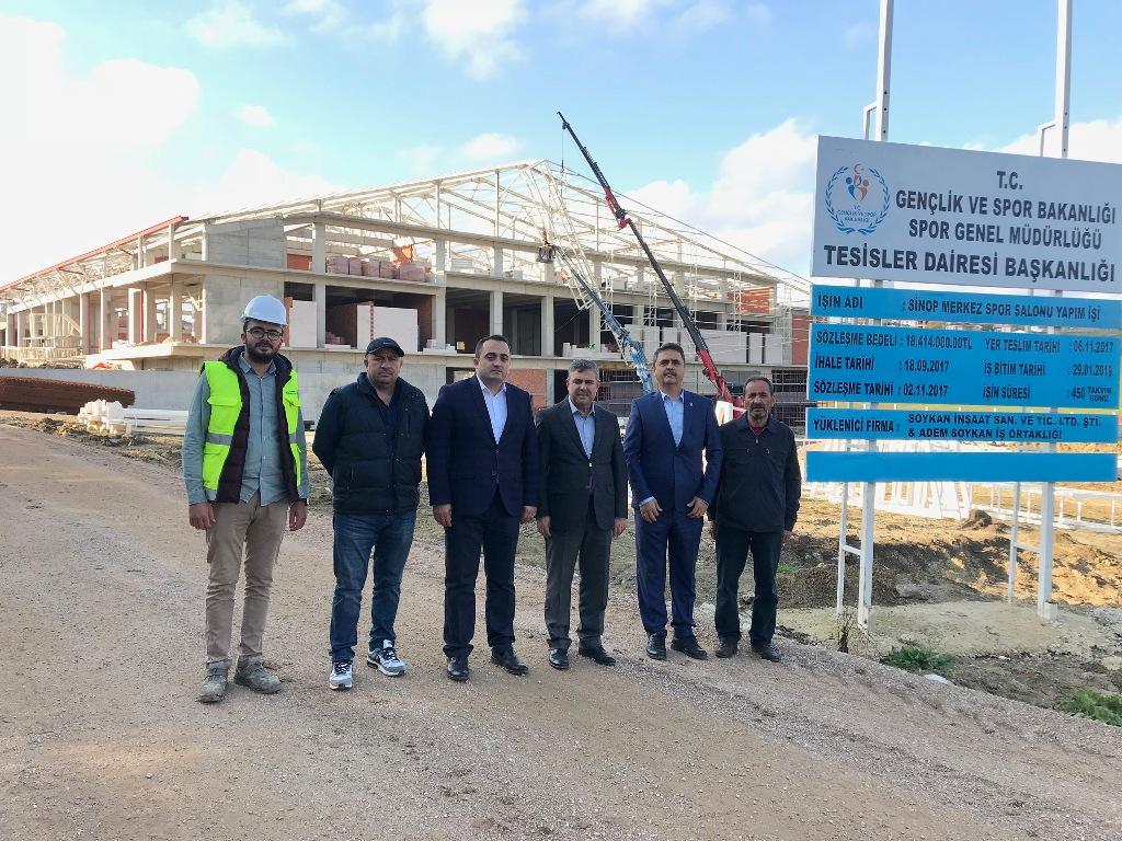 Sinop'taki Spor Yatırımları Bir Bir Hizmete Giriyor