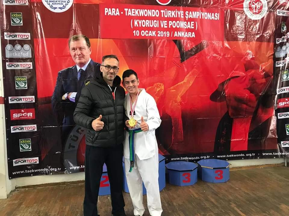 Boyabat'lı Genç Türkiye Şampiyonu Oldu