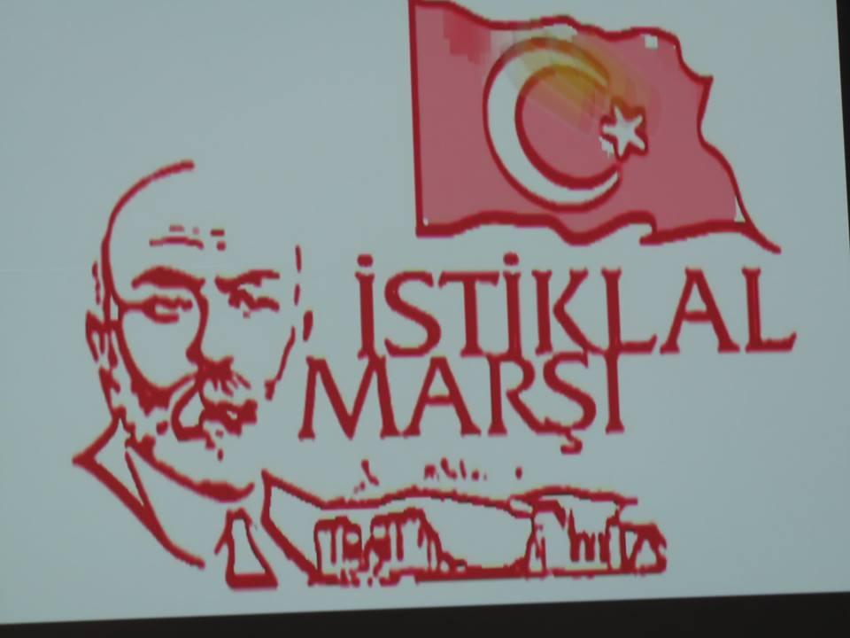 İstiklal Marşının Kabulü ve M.Akif Ersoy'u Anma Günü Prog. Yapıldı.