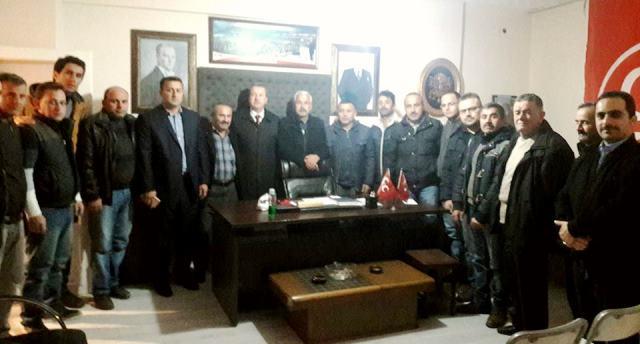 Boyabat MHP Yerel Seçim Çalışmasına Erken Başladı