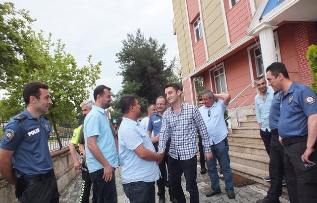 Cumhuriyet Savcısı Mehmet Özdemir'den Emniyete Veda Ziyareti