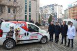 Sokak hayvanlarına ambulans