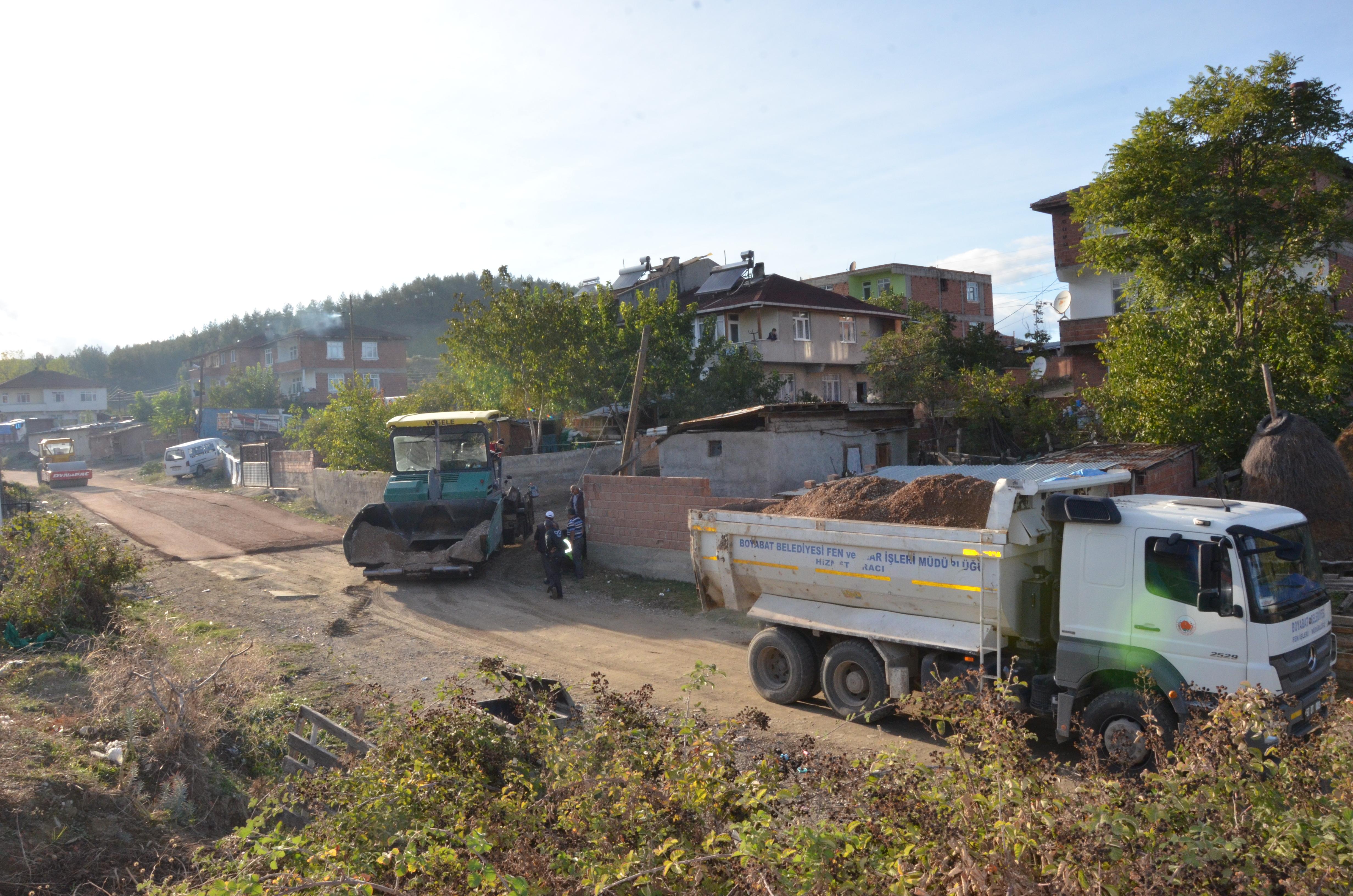 Sefa Mahallesi asfaltlanıyor