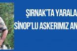 Şırnak'ta Yaralanan SİNOP'LU Askerimiz Ankara'da