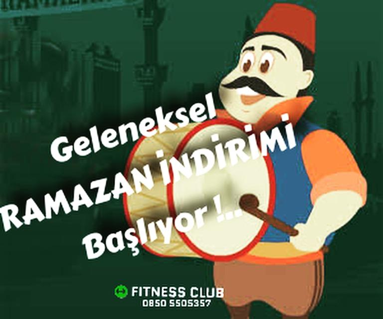 Fitness Club Ramazan kampanyası