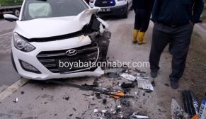 Boyabat Duragan yolunda trafik kazası