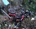 Traktörü ile Dereye Uçan Eski Muhtar Hayatını Kaybetti