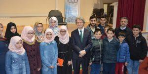 Osman Egin Kur'an Kursu Öğrencileri İle Buluştu