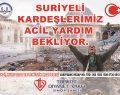 Suriyeli Kardeşlerimiz Acil Yardım Bekliyor