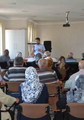 Sinop'lu Hacı Adayları, Hacca Hazırlık Seminerindeler