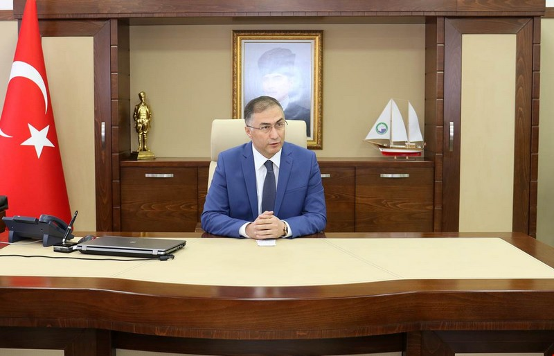 Sinop Valisi Köksal Şakalar Görevine Başladı