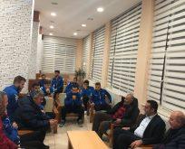 CHP'li Karadeniz'den Sinopspor'a Destek Ziyareti