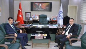 Türkeli Kaymakamı Zadeleroğlu'ndan İl Müftüsü Çelik'e Ziyaret