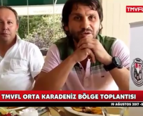 TMVFL Orta Karadeniz Bölge Toplantısını Samsun'da Yaptı