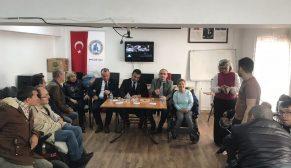 Chp'li Karadeniz Engellileri Ziyaret Ederek Sorunlarını Dinledi