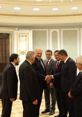 Sinop Mv Barış Karadeniz ve TBMM heyetinden Belarus'a Ziyaret