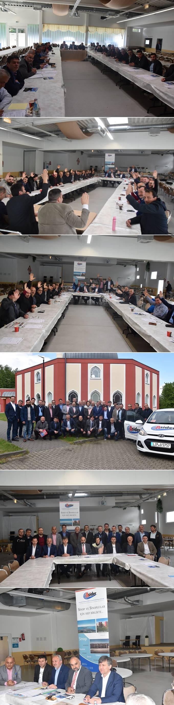 Avrupalı Sinopular Kültür ve Sosyal Yardımlaşma Derneği (ASİDER) 9. dönem olağan genel kurulunu yaptı.