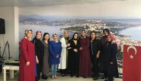 Sinop'lu Kadınlar Sinop Seyir Tepede Buluştu