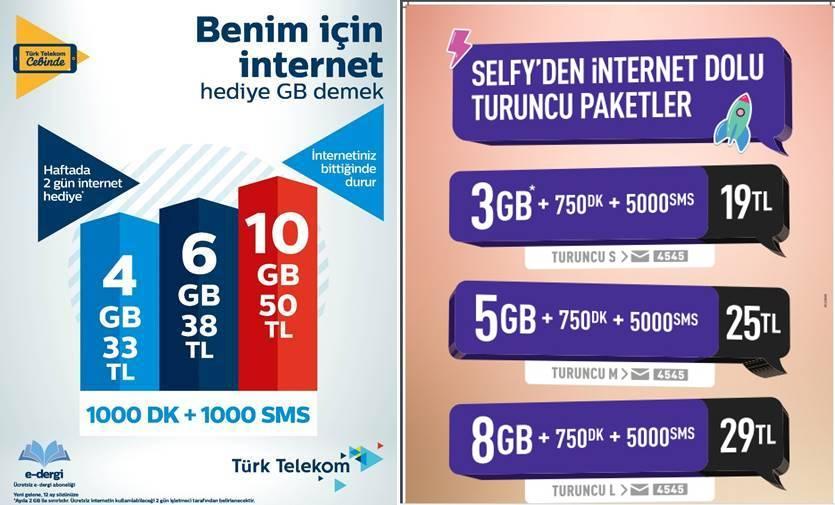 Türk Telekom'lulara Özel Fırsatlar