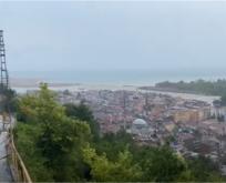 Ayancık' ta Sel felaketi sonrası görünüm (Video)
