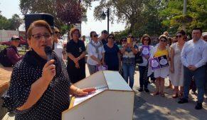 Sinop'ta CHP'Lİ Kadınlar Emine Bulut Cinayeti Protesto Etti…