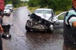 Kamyola Otomobil Çarpıştı. 1 Yaralı
