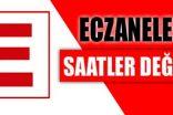 ECZANE ÇALIŞMA SAATLERİ DEĞİŞTİ.