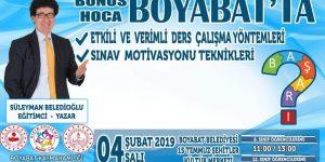 Bonus Hoca Boyabat'ta
