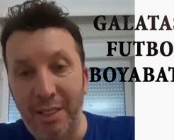 Galatasaray'lı Futbolcu Boyabat'a Selam Gönderdi (VİDEO)