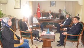 75. Yıl Devlet Hastanesi Yönetiminden Şefik Çakıcı'ya Ziyaret