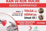 Boyabat Belediyesinden Kan Ve Kök Hücre Bağış Kampanyası