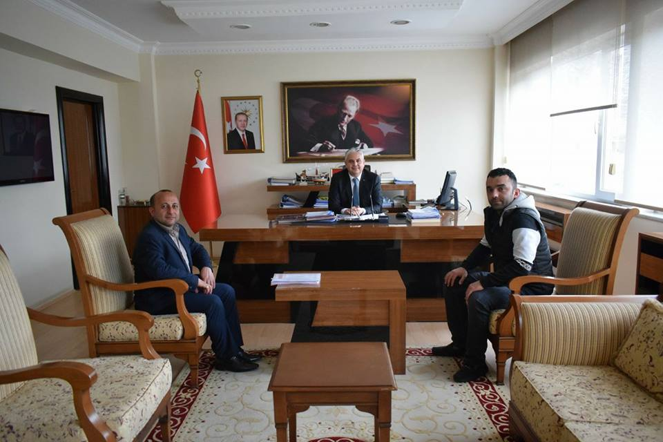 Kaymakam Aksoy' a Ziyaret