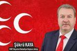 MHP Boyabat Belediye Başkan Adayı Şükrü Kaya'dan FLAŞ Basın Açıklaması…