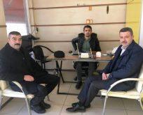 Başkan Çakıcıdan MHP İlçe Başkanına Ziyaret