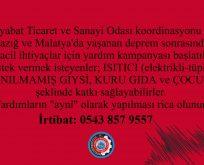 Boyabat TSO'dan yardım kampanyası