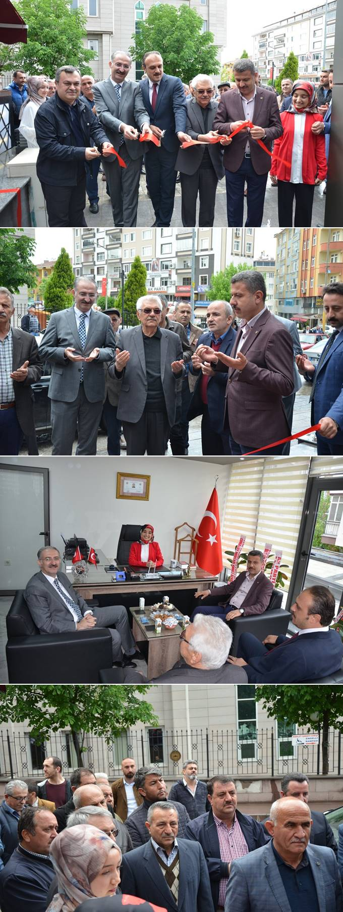 Türkmen Hukuk Bürosunun açılışı  bugün saat 15.00'de vatandaşların katılımı ile gerçekleştirildi.