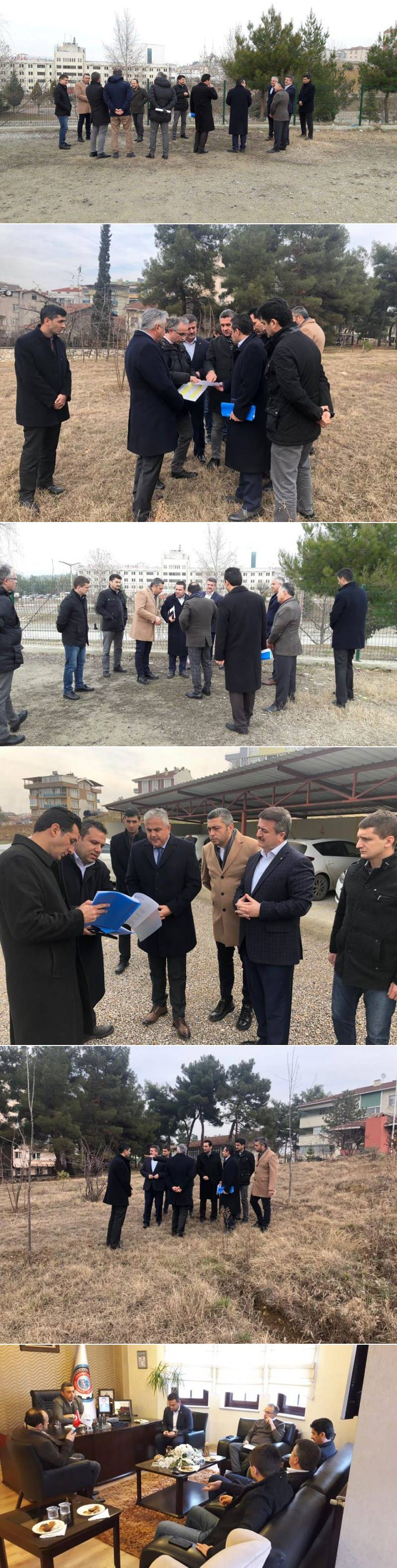 Boyabat Ticaret ve Sanayi Odasının girişimleri ve Türkiye Odalar ve Borsalar Birliği'nin (TOBB) destekleriyle ilçemizde yapılacak 24 derslikli yeni ilköğretim okulu için son etüt çalışmaları tamamlandı.