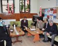 Başkan Çakıcı okul ziyaretlerine devam etti.