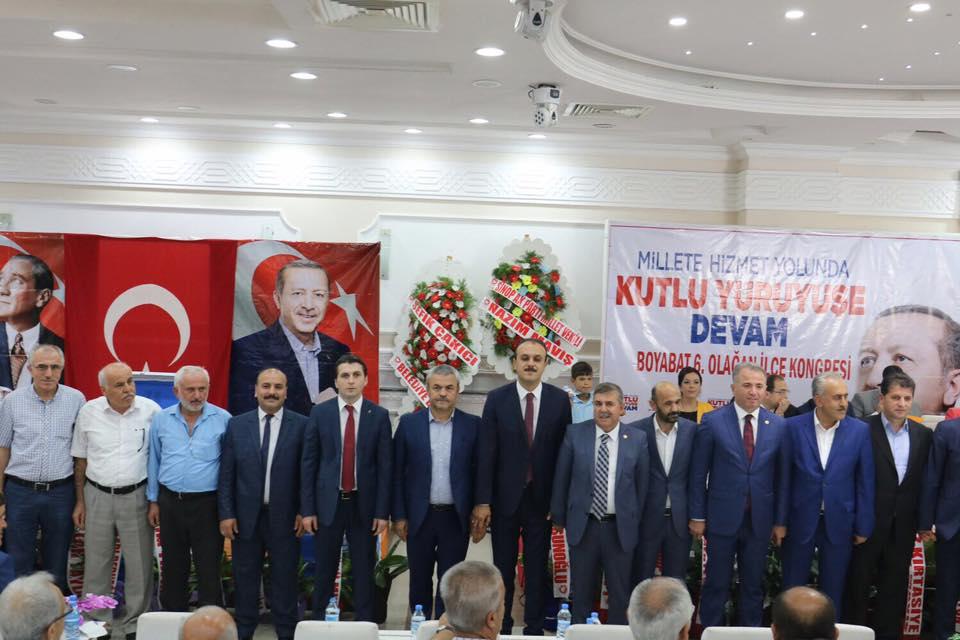 AK Parti Boyabat İlçe Başkanlığına yeniden Ferhat Yıldız seçildi.