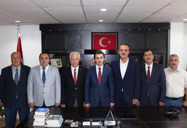 Sinop AK Parti İl Başkanı Ali Çöpçü, 7 İlçe Başkanı İle Yolumuza Devam Edeceğiz