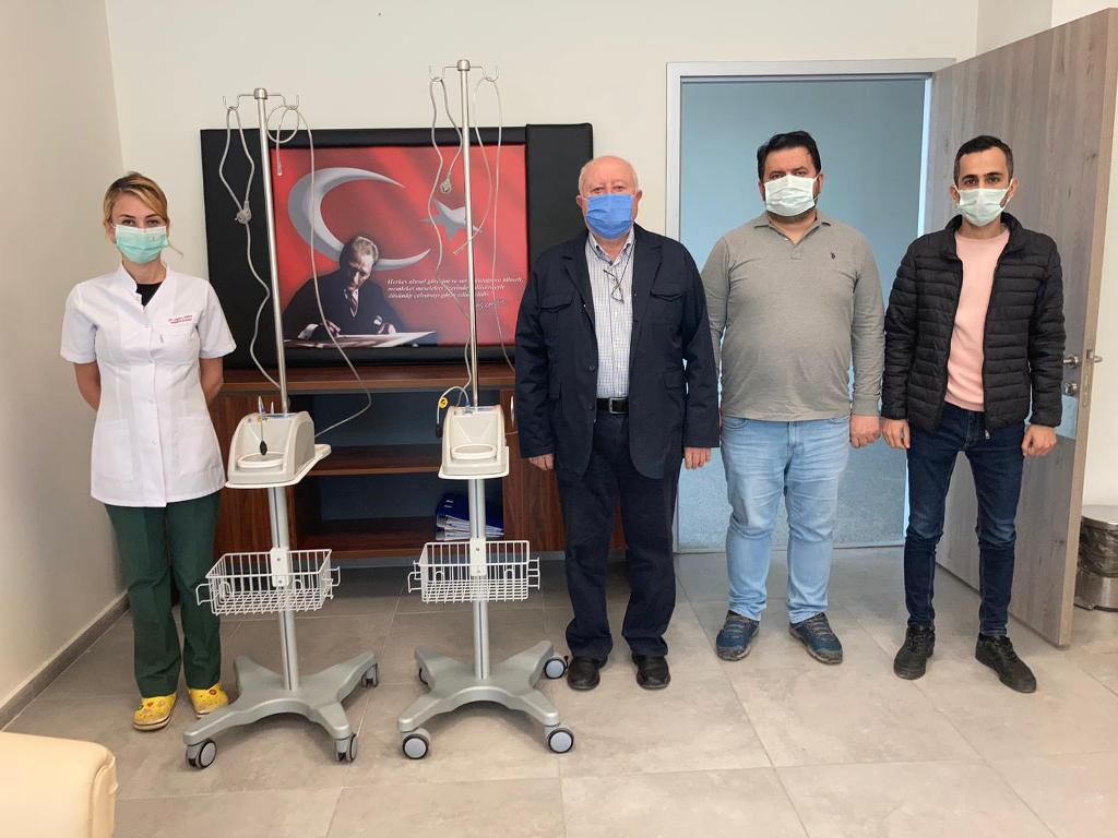S.S. Boyabat Esnaf Kefalet Kooperatifinden Solunum Cihazı Bağışı